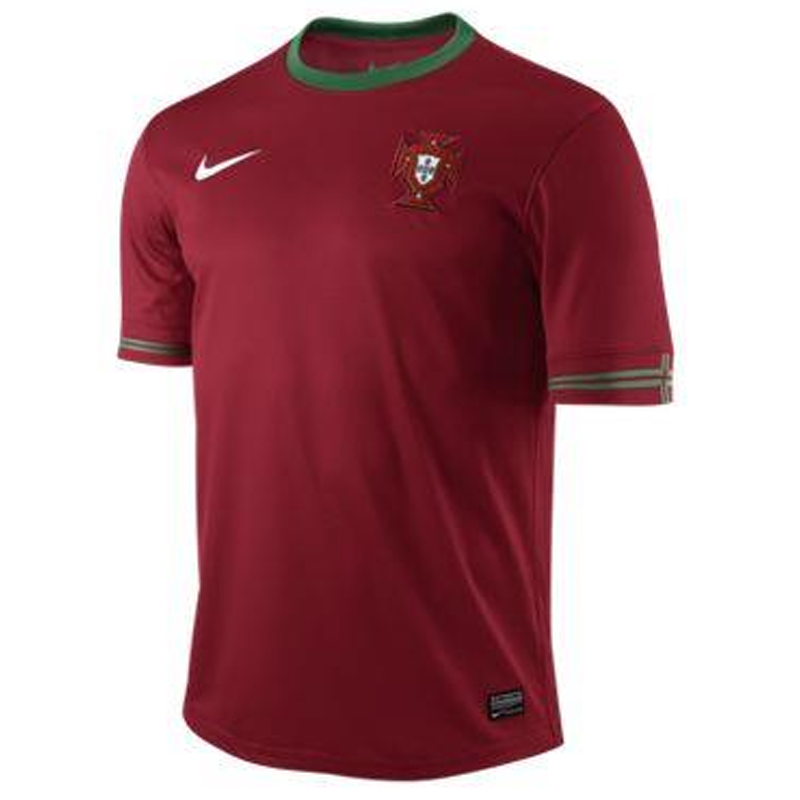 PORTUGAL SS HOME REPL JSY-GYM RED/P